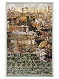 VIII Esposizone International Venezia Giclee Print by Augusto Sezanne