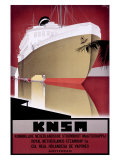 KNSM Giclee Print by Willem Ten Broek