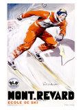 PLM, Mont Revard Giclee Print by Paul Ordner