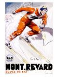 PLM, Mont Revard Giclee Print by Paul Ordner