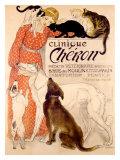 Clinique Cheron Giclee Print by Théophile Alexandre Steinlen