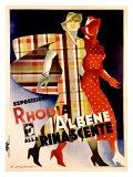 La Rinascente, Esposizione Rhodia Albene Giclee Print by Marcello Dudovich