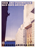Hamburg to America Line Giclee Print