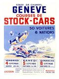 Stade de Champel Geneve Giclée-Druck von Geo Ham