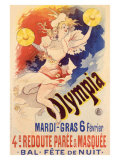 Olympia Giclee Print by Jules Ch&#233;ret