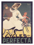 Cycles Perfecta Giclee Print by Achille Butteri