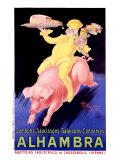 Alhambra– Speck und Wurst vom Schwein Giclée-Druck von Henry Le Monnier