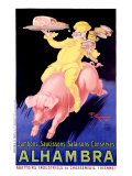 Alhambra Pork Bacon Sausage Giclee Print by Henry Le Monnier