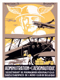 Administration de l'Aeronautique Giclee Print by Michielssen