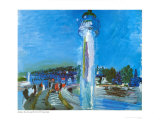 Honfleur Prints by Raoul Dufy