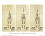 Central Tower 1 Prints by Nicholas Hawksmoor