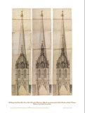 Central Tower 2 Posters by Nicholas Hawksmoor
