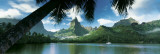 Tahiti - baie d'Opunohu Affiches