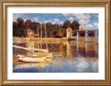 The Bridge at Argenteuil Prints by Claude Monet
