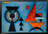 Weiches Hart Art by Wassily Kandinsky