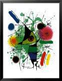 Singing Fish Poster by Joan Miró