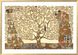 The Tree of Life - Stoclet Frieze Posters by Gustav Klimt