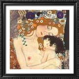 Le tre eta della donna Prints by Gustav Klimt