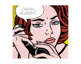 Ohhh...Alright..., 1964 Posters av Roy Lichtenstein