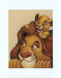 Simba and Mufasa: My Father, My Friend Prints