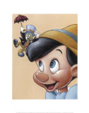 Pinocchio et Jiminy - Amis pour la vie Posters