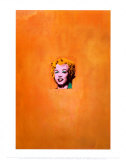 Marilyn Monroe dor&#233;e, 1962 Posters par Andy Warhol