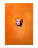 Marilyn Monroe dorée, 1962 Posters par Andy Warhol
