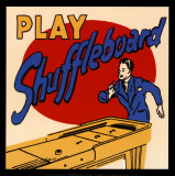 Play Shuffleboard Prints