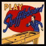 Play Shuffleboard Prints