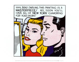 Obra maestra, 1962 Psters por Roy Lichtenstein