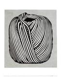 Roy Lichtenstein - Yumak Topu, 1963 - Art Print