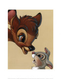 Bambi and Thumper: Best of Friends Print