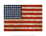 Bandera, 1954-55 Psters por Jasper Johns