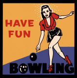 Have Fun Bowling Prints