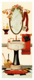 Girly Bath Posters by Lisa Danielle
