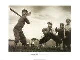 The Baseball Game Plakater av G. Fitz