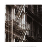 Feuertreppe Poster