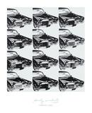 Doce coches, 1962 Láminas por Andy Warhol