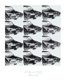 Twelve Cars, 1962 Print by Andy Warhol