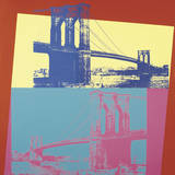 El Puente de Brooklyn, 1983 (impresin digital por chorro de tinta) Lminas por Andy Warhol