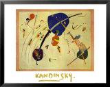 Vers Le Bleu 1939 Art by Wassily Kandinsky