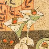 Martini et olives Affiche par Penny Feder