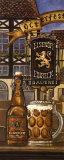 Bière allemande Poster par Charlene Audrey