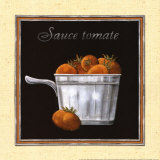 Sauce Tomate Posters by Charlene Audrey