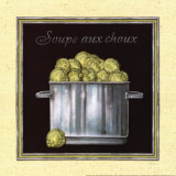 Soupe aux Choux Prints by Charlene Audrey