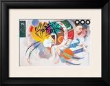 Dominant Curve Art by Wassily Kandinsky
