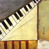 Notas musicales I Lámina por Susan Osborne