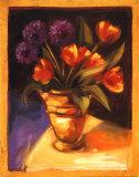 Tulip & Dahlia Posters par Sarah Waldron