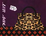 Leopard Handbag III Print by Jennifer Matla