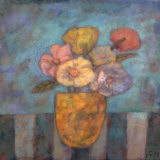 Golden Vase Prints by Carolyn Holman